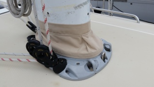 Mast boot cover