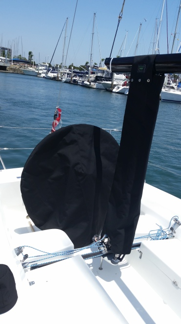 Wheel & mainsheet cover