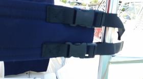 Padded backrest